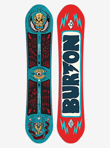 Burton ProTest Snowboard shown in 136