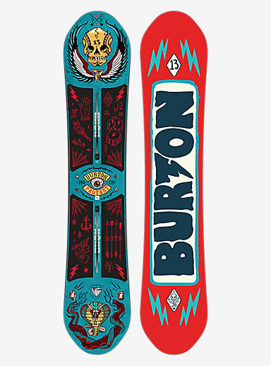 Burton ProTest Snowboard shown in 142