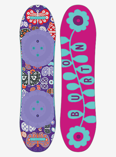 Burton Chicklet Snowboard shown in 80
