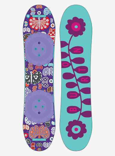 Burton Chicklet Snowboard shown in 90