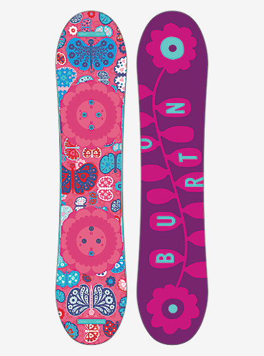 Burton Chicklet Snowboard shown in 100