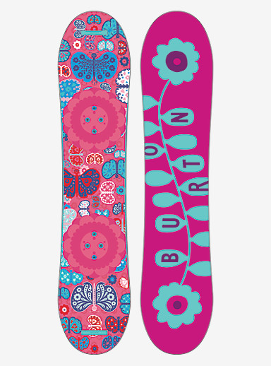 Burton Chicklet Snowboard shown in 110