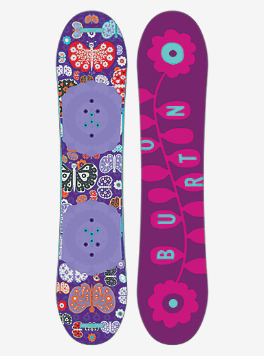 Burton Chicklet Snowboard shown in 120