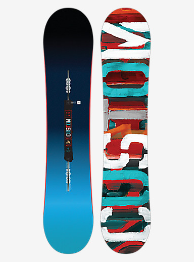 Burton Custom Smalls Snowboard shown in 130