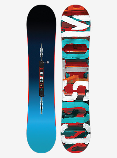 Burton Custom Smalls Snowboard shown in 135