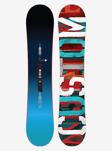 Burton Custom Smalls Snowboard shown in 140