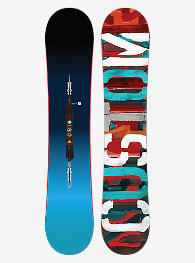 Burton Custom Smalls Snowboard shown in 145W
