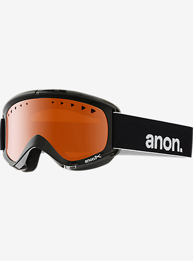 anon. Helix Goggle shown in Frame: Black, Lens: Amber