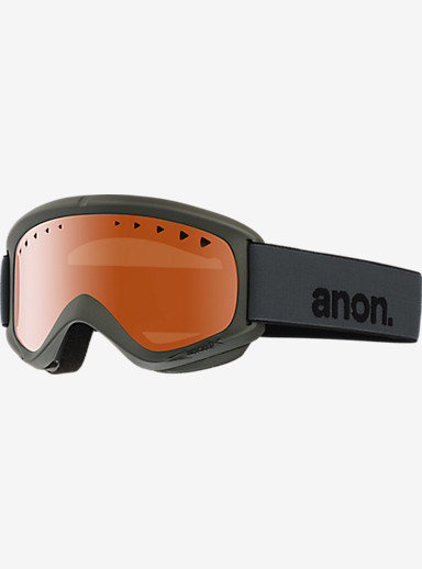 anon. Helix Goggle shown in Frame: Stealth, Lens: Amber