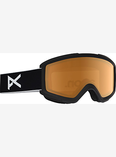 anon. Helix 2.0 Goggle shown in Frame: Black, Lens: Amber