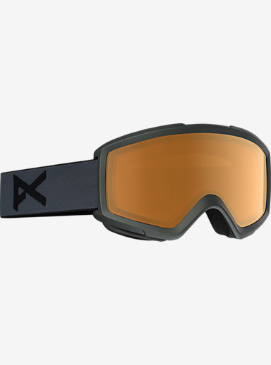 anon. Helix 2.0 Goggle shown in Frame: Stealth, Lens: Amber