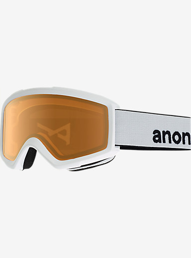 anon. Helix 2.0 Goggle shown in Frame: White, Lens: Amber