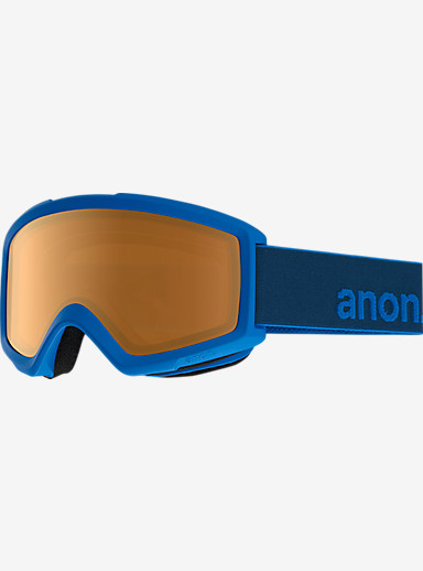 anon. Helix 2.0 Goggle shown in Frame: Midnight, Lens: Amber