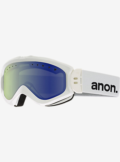 anon. Majestic Goggle shown in Frame: White, Lens: Blue Lagoon