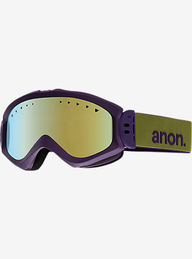 anon. Majestic Goggle shown in Frame: Pellow, Lens: Gold Chrome