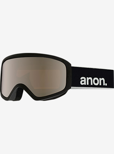 anon. Insight Goggle shown in Frame: Black, Lens: Silver Amber