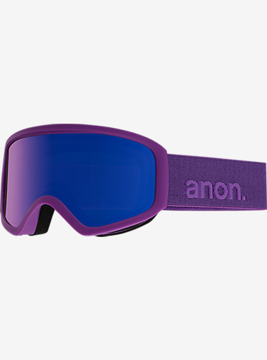 anon. Insight Goggle shown in Frame: Imperial, Lens: Blue Cobalt