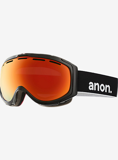 anon. Hawkeye Goggle shown in Frame: Black, Lens: Red Solex