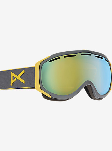 anon. Hawkeye Goggle shown in Frame: Gray, Lens: Gold Chrome
