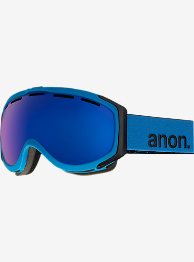 anon. Hawkeye Goggle shown in Frame: Blue, Lens: Blue Cobalt