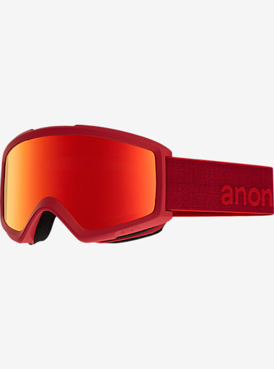 anon. Helix 2.0 Goggle + Spare Lens shown in Frame: Blaze, Lens: Red Solex