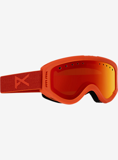 anon. Tracker Goggle shown in Frame: Cheeto, Lens: Red Amber