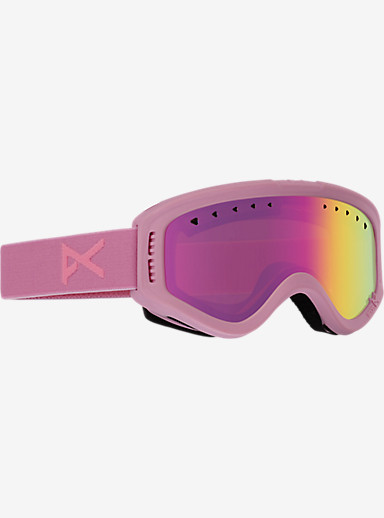 anon. Tracker Goggle shown in Frame: Cotton Candy, Lens: Pink Amber