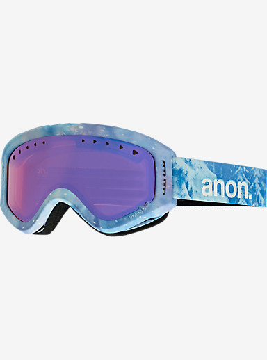 Disney Frozen Tracker Goggles by Anon shown in Frame: Frozen (A2) © Disney, Lens: Blue Amber