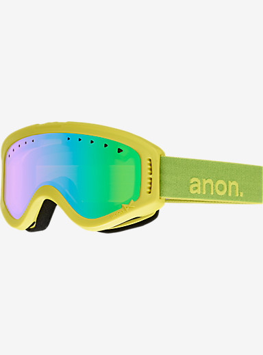 anon. Kids Tracker Goggle shown in Frame: Ricky, Lens: Green Amber