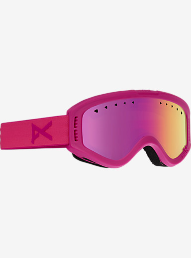 anon. Kids Tracker Goggle shown in Frame: Pink, Lens: Pink Amber
