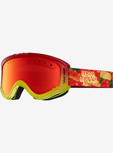 anon. Kids Tracker Goggle shown in Frame: Gummy, Lens: Red Amber