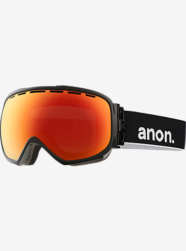 anon. Insurgent Goggle shown in Frame: Black, Lens: Red Solex