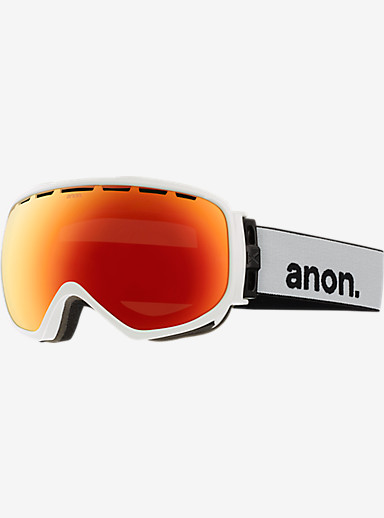 anon. Insurgent Goggle shown in Frame: White, Lens: Red Solex