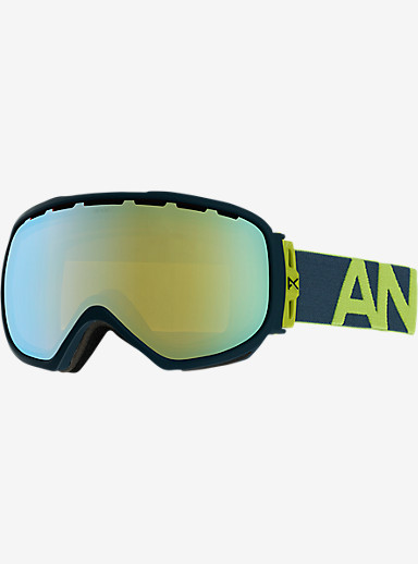 anon. Insurgent Goggle shown in Frame: Lemonade, Lens: Gold Chrome