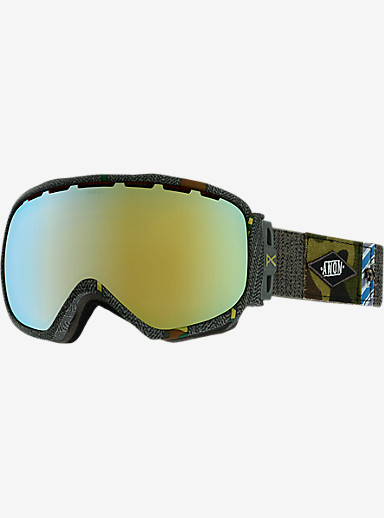 anon. Insurgent Goggle shown in Frame: Camo Inc, Lens: Gold Chrome