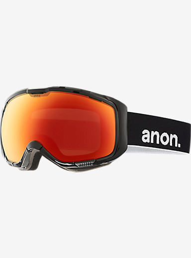 anon. M1 Goggle shown in Frame: Black, Lens: Red Solex