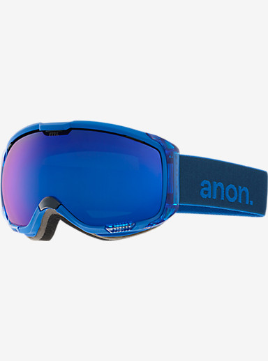 anon. M1 Goggle shown in Frame: Midnight, Lens: Blue Cobalt