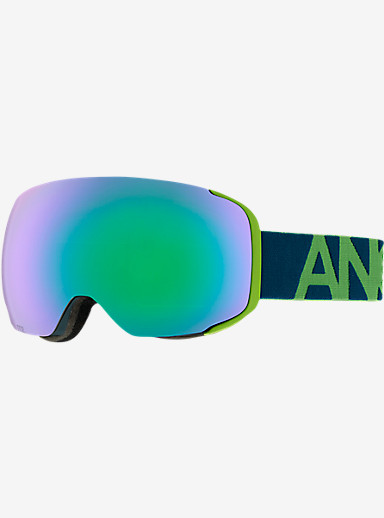 anon. M2 Goggle shown in Frame: Krypto, Lens: Green Solex
