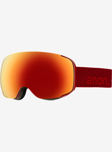 anon. M2 Goggle shown in Frame: Blaze, Lens: Red Solex