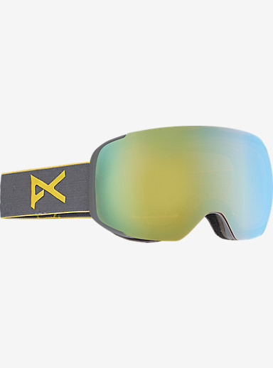 anon. M2 Goggle shown in Frame: Gray, Lens: Gold Chrome