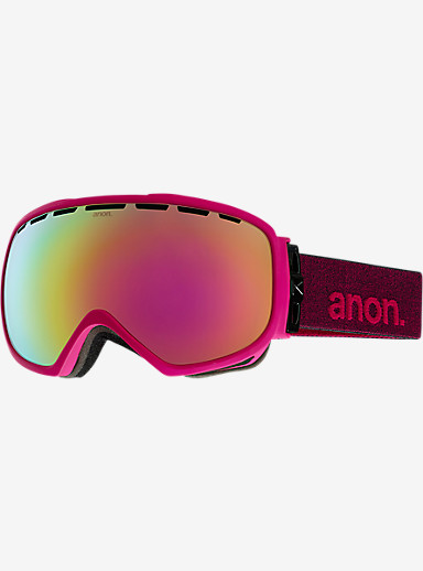 anon. Somerset Goggle shown in Frame: Pink, Lens: Pink Cobalt