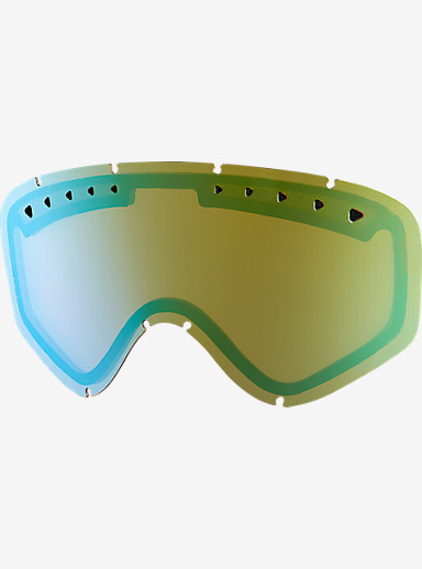 anon. Tracker Goggle Lens shown in Gold Chrome