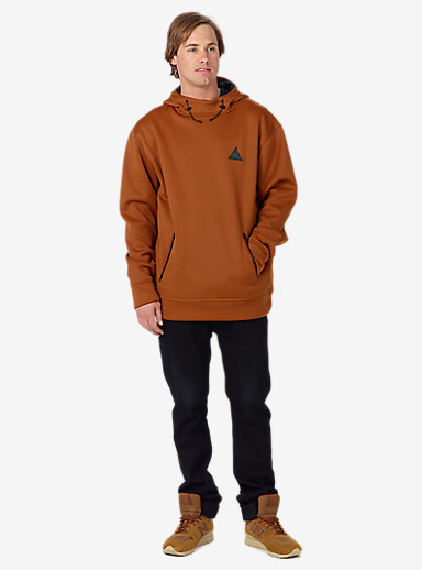 Burton Crown Bonded Pullover Hoodie shown in True Penny