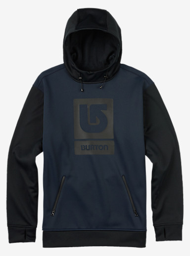 Burton Crown Bonded Pullover Hoodie shown in Eclipse