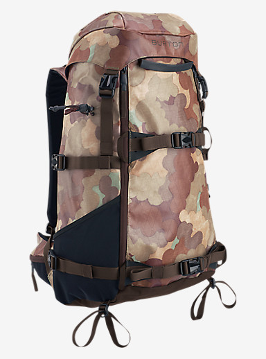Burton Tour 31L Backpack shown in Storm Camo Tarp