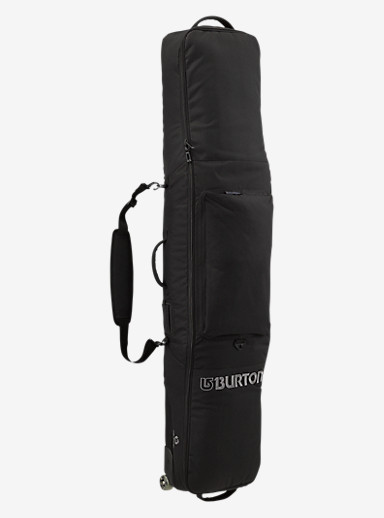 Burton Wheelie Gig Bag shown in True Black