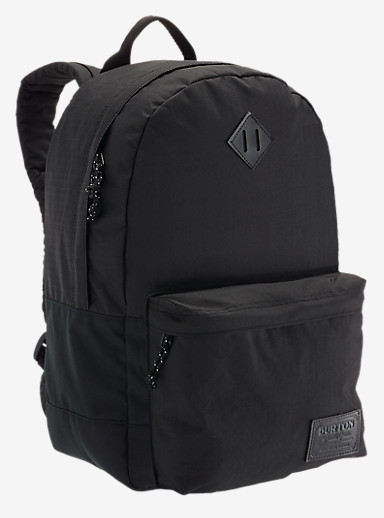 Burton Kettle Backpack shown in True Black Triple Ripstop