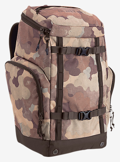 Burton Booter Pack shown in Storm Camo Print