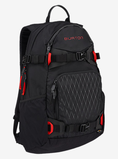 Burton Rider's 25L Backpack 2.0 shown in True Black Cordura®