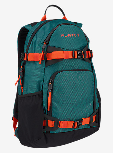 Burton Rider's 25L Backpack 2.0 shown in Dark Tide Ripstop